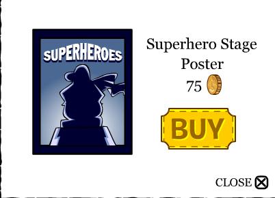 Superhero-poster