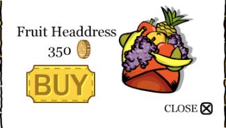 fruit headress
